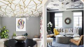 Tavanlara renk katın: Tavan duvar kağıdı trendi