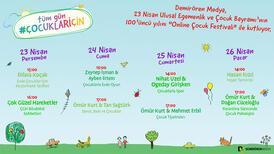 Demirören Medya Online Çocuk Şenliği 23 Nisan'a neşe katacak