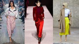 Sonbahar/Kış 2020-2021 için kilit moda trendleri