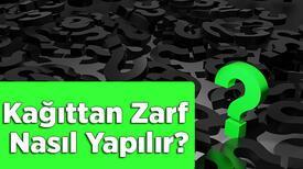 Kağıttan Zarf Nasıl Yapılır? A4 Ve El İşi Kağıdından Kolay Zarf Yapma Yöntemleri...