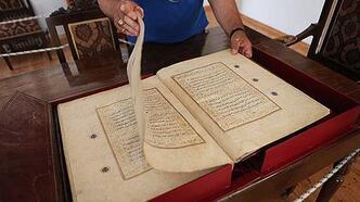 613 yıllık Kuran-ı Kerim