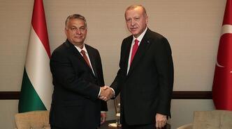 Cumhurbaşkanı Erdoğan, Macaristan Başbakanı Orban'ı kabul etti
