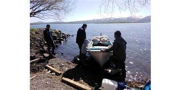 Çıldır Gölü'nde Balıkçıların Umudu Gelecek Sezonda