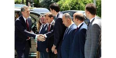 Milli Eğitim Bakanı Ziya Selçuk, Erzincan'da
