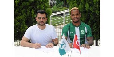Giresunspor'da Del Valle İmzaladı