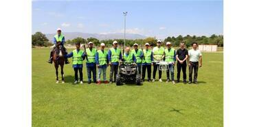Erzincan'da Atlı, Atv Ve Drone'lu Kurban Yakalama Timi