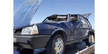Tatil İçin Memleketlerine Gelen Çift, Kazada Öldü