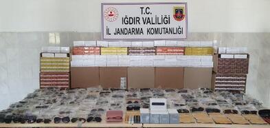Iğdır'da Kaçak Güneş Gözlüğü Operasyonu