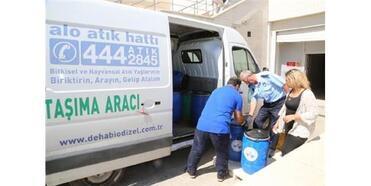 Elazığ'da 24 Ton Atık Yağ Geri Dönüşüme Kazandırıldı