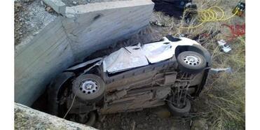 Menfez Duvarına Çarpan Araçtaki 2'Si Çocuk, 5 Kişi Öldü