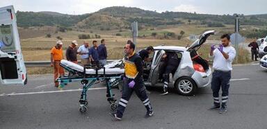 Bolu'da Kaza: 2 Yaralı