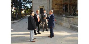 Akşehir'de Hasan Paşa İmaret Cami Restorasyonu Son Aşamaya Geldi