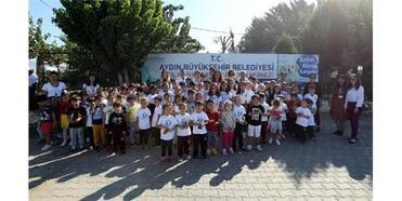 Çocuklardan, Aydın Büyükşehir'in Hayvan Barınağına Ziyaret