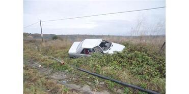 Malkara'da İki Otomobil Çarpıştı: 2 Yaralı