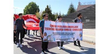 Üniversite Öğrencilerinden Barış Pınarı Harekatı'na Destek Yürüyüşü
