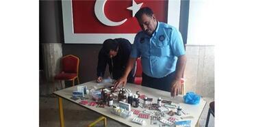 Suriyeli'nin İşlettiği Bakkalda İlaç Ele Geçti