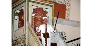 Kılıçlı Hutbe Okunan Camide Mehmetçik İçin Dua
