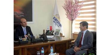 Japon Büyükelçi Kırşehir'de