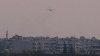 Kamışlı'da Rus uçağı hareketliliği sürüyor