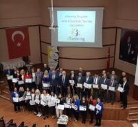 Zonguldak'ta E-Twinning ödül töreni düzenlendi