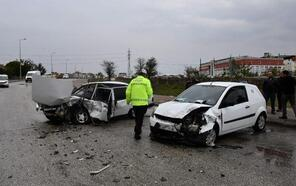 Tekirdağ'da kaza: 2 yaralı