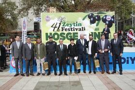 41. Orhangazi Zeytin Festivali coşkusu yaşandı