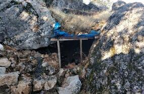 PKK'lıların kullandığı sığınak ve mağaralar kullanılamaz hale getirildi