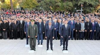 Atatürk ölüm yıldönümünde anıldı