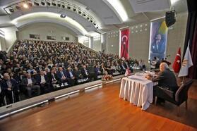 Ortaylı, Atatürk'ü anlattı, dinleyiciler salona sığmadı