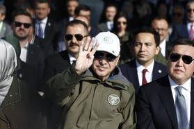 Cumhurbaşkanı Erdoğan: Onlar yaktılar, biz diktik