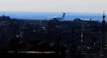 Kamışlı'da Rus uçağı hareketliliği