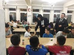 Keles Kaymakamı Teymur, öğrencilerin doğum günü etkinliğine katıldı