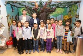 Kızılkayalı çocuklar Anadolu Oyuncak Müzesi'nde