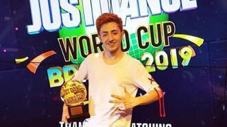 Just Dance'da 3. kez Dünya Şampiyonu Umutcan Tütüncü