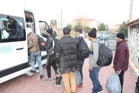Tekirdağ'da 35 kaçak göçmen yakalandı