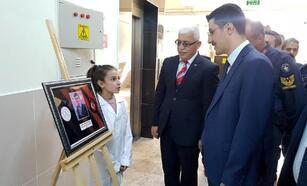 Çamardı Yatılı Bölge Ortaokulu'nda Şehit Öğretmenler fotoğraf sergisi