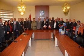 Kırıkhan'da Kıbrıs gazilerine devlet öğünç madalyası verildi