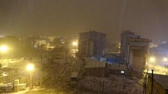 Van ve Hakkari'de kar yağışı etkili oldu