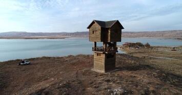 'Kuş Cenneti' Tödürge Gölü'nde sonbahar