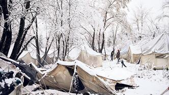 Bosna'da mülteciler zor şartlar altında