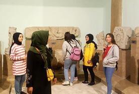 Çamardı Lisesi öğrencileri Niğde Müzesi'ni gezdi