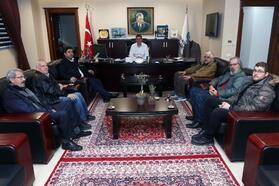 BAÇED'den Bandırma Belediye Başkanı Av. Tolga Tosun'a ziyaret