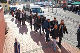 FETÖ'nün TÜBİTAK yapılanması soruşturmasında 9 kişi adliyede