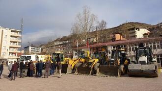 Şemdinli Belediyesi kışa hazır
