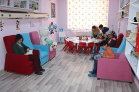 Yüksekova Devlet Hastanesi'nde çocuklar için kütüphane
