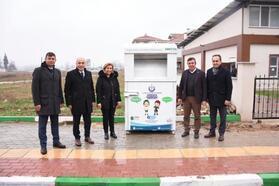 Yenişehir'de Giysi Kumbaraları Projesi başladı