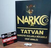 Tatvan'da yol kontrolünde uyuşturucu ele geçirildi
