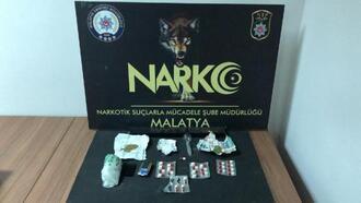 Malatya'da uyuşturucuya: 1 tutuklama