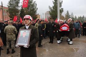 Şehit Uzman Onbaşı Akbulut, Mardin'de son yolculuğuna uğurlandı