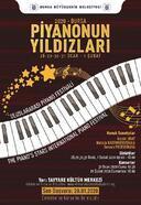 Piyanonun yıldızları Bursa'da buluşuyor